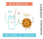 cute unusual national best... | Shutterstock .eps vector #426938515