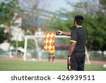 assistant football referee and... | Shutterstock . vector #426939511