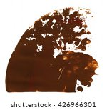 brush stroke and texture. smear ... | Shutterstock . vector #426966301