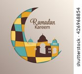 background for muslim community ...   Shutterstock .eps vector #426968854