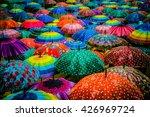 Colorful Umbrellas Interior Top ...