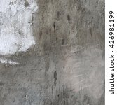 cement wall background with...   Shutterstock . vector #426981199