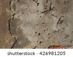 cement wall background with...   Shutterstock . vector #426981205