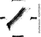 hand drawn brush ink grunge... | Shutterstock .eps vector #426992845