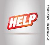 help.  | Shutterstock .eps vector #426993511