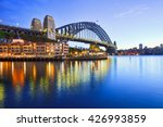 sydney harbour bridge ... | Shutterstock . vector #426993859