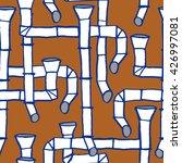 downspout pattern  | Shutterstock .eps vector #426997081