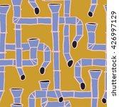 downspout pattern  | Shutterstock .eps vector #426997129