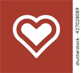 heart  icon  vector... | Shutterstock .eps vector #427028089