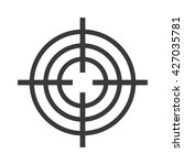 target circle for archery | Shutterstock .eps vector #427035781
