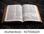 the king james bible  public...   Shutterstock . vector #427036624