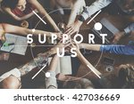 support assistance coaching... | Shutterstock . vector #427036669