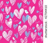 romantic seamless pattern | Shutterstock . vector #42704410