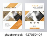 annual report and brochure.... | Shutterstock .eps vector #427050409