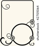 floral design elements   Shutterstock .eps vector #42705064