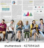 article business information... | Shutterstock . vector #427054165