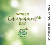 world environment day  june 5... | Shutterstock . vector #427067839