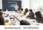business report analytics... | Shutterstock . vector #427092454