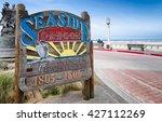 seaside  oregon sign...   Shutterstock . vector #427112269