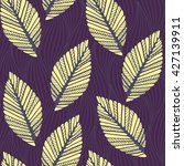 a seamless pattern tile with... | Shutterstock .eps vector #427139911