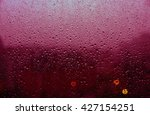 window with many of drops of... | Shutterstock . vector #427154251
