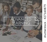 Small photo of Advance Learning Advancement Modern Education Concept