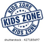 kids zone. stamp | Shutterstock .eps vector #427185697