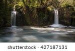 waterfalls of monte gelato | Shutterstock . vector #427187131