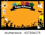 halloween card | Shutterstock .eps vector #427206175