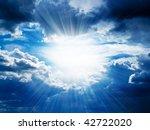 Rays Of Sunshine Breaks Through ...