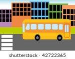 vector illustration of school... | Shutterstock .eps vector #42722365