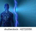 electric man   Shutterstock . vector #42723550