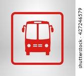 bus icon. schoolbus simbol. | Shutterstock .eps vector #427246579
