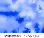 blue organic psychedelic... | Shutterstock . vector #427277419