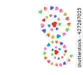 hearts | Shutterstock .eps vector #427287025