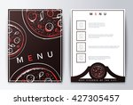 background restaurant menu... | Shutterstock .eps vector #427305457