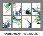 abstract background. geometric... | Shutterstock .eps vector #427309987