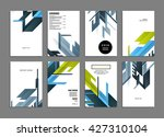 abstract background. geometric... | Shutterstock .eps vector #427310104