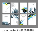 abstract background. geometric... | Shutterstock .eps vector #427310107