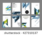 abstract background. geometric... | Shutterstock .eps vector #427310137