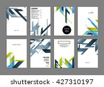 abstract background. geometric... | Shutterstock .eps vector #427310197