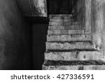 Stair In Abandoned Building ...