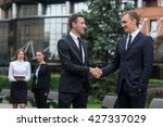 business confidence and... | Shutterstock . vector #427337029