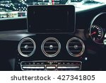 detail of control panel  ... | Shutterstock . vector #427341805