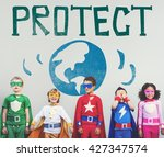 protect save earth nature...
