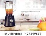 black blender  | Shutterstock . vector #427349689