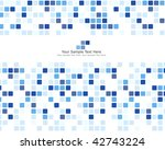abstract checked  business... | Shutterstock . vector #42743224