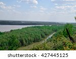 View Of The Ob River From The...