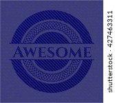 awesome denim background | Shutterstock .eps vector #427463311