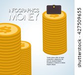 money design. commerce icon.... | Shutterstock .eps vector #427509655